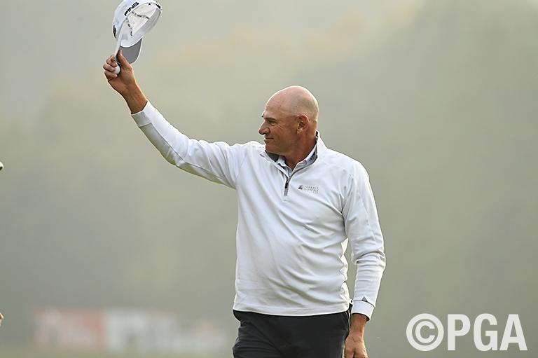 <News・FR>日本シニア参戦4年目のP・ファウラーが会心のゴルフで初タイトル獲得