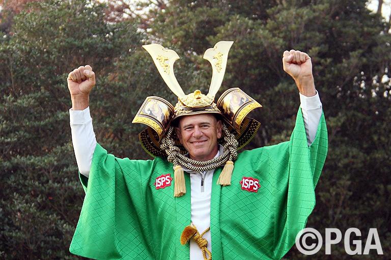<Photo・FR>11バーディノーボギーと圧巻のプレーで優勝を決めたファウラー