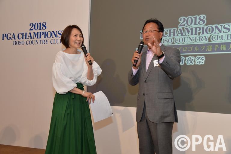 <前夜祭>PGA倉本会長「日本プロの歴史を守る」