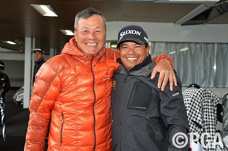 <指定練習日>日本プロシニア覇者と日本シニアオープン覇者