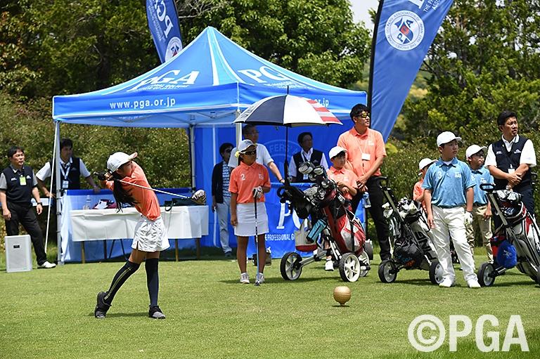 <Photo/3R>PGA ジュニアリーグ・プレ大会