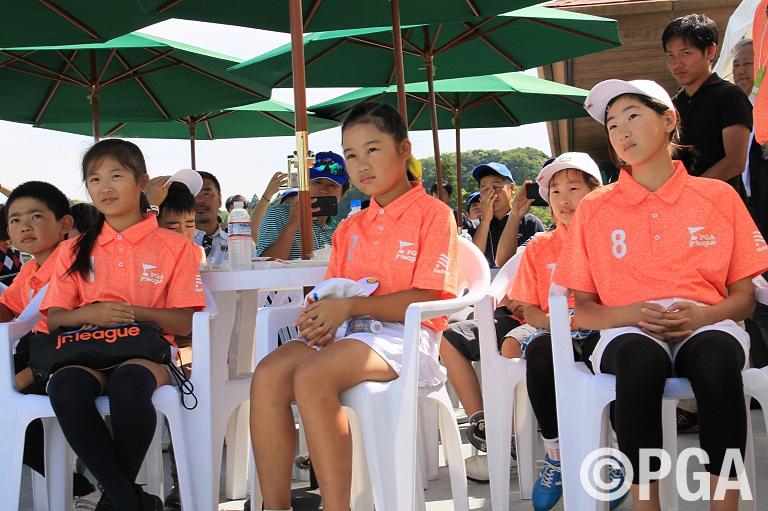 <Photo/3R>PGAジュニアリーグ表彰式