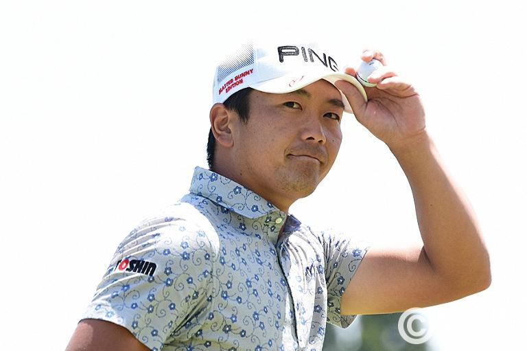 <2R>2位タイにつけた永野、フェアウエイを捕らえてツアー初優勝を目指す