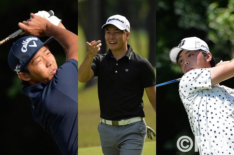 松山・石川世代の新人3人、(左から)皆本祐介、高田聖斗、成松亮介がツアーデビュー