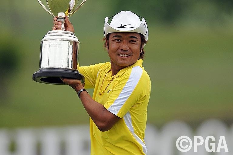 片山晋呉:2008年覇者