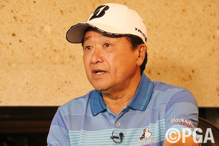 倉本会長・来年開催に向けニュースタイル&ニューゴルフを続ける