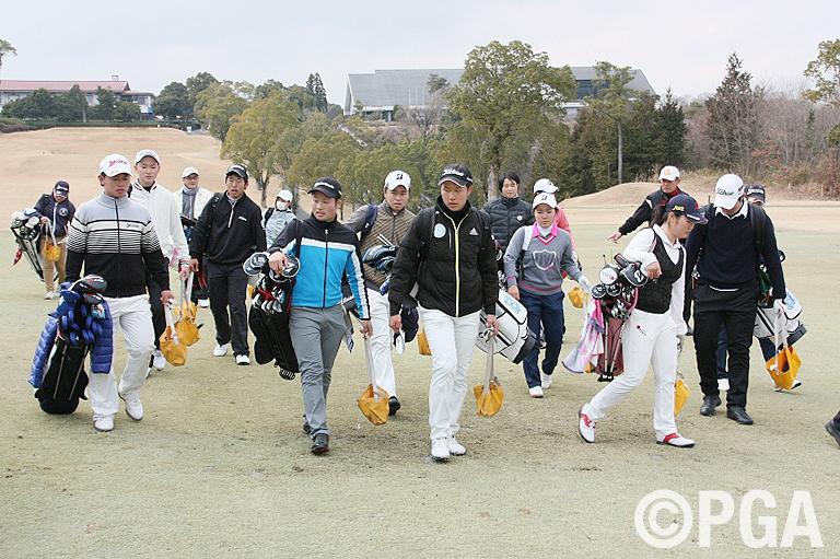 ゴルフアカデミー合宿初日「目指すは世界」