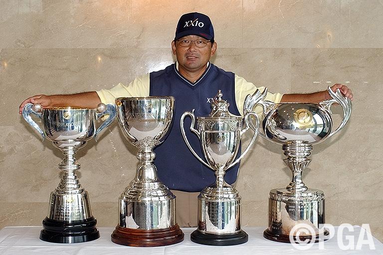 中嶋常幸が8種の日本タイトル、計16勝目をマーク
