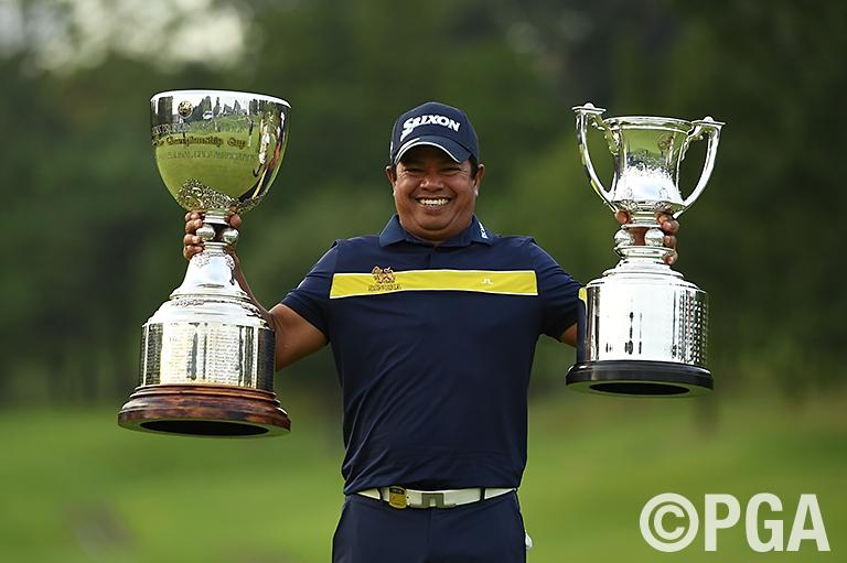 異次元のゴルフで初日から首位の完全優勝を果たしたマークセン