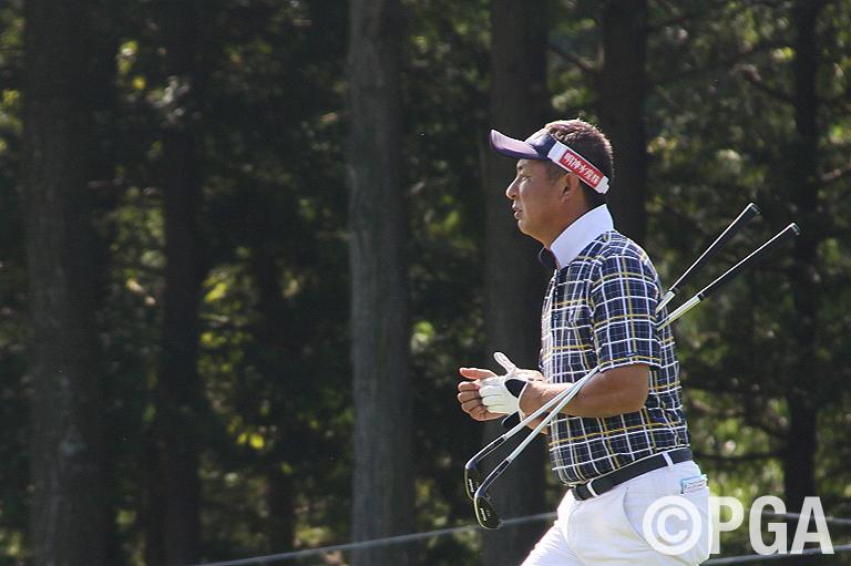 高島は、多くを望まず、謙虚なゴルフを目指す