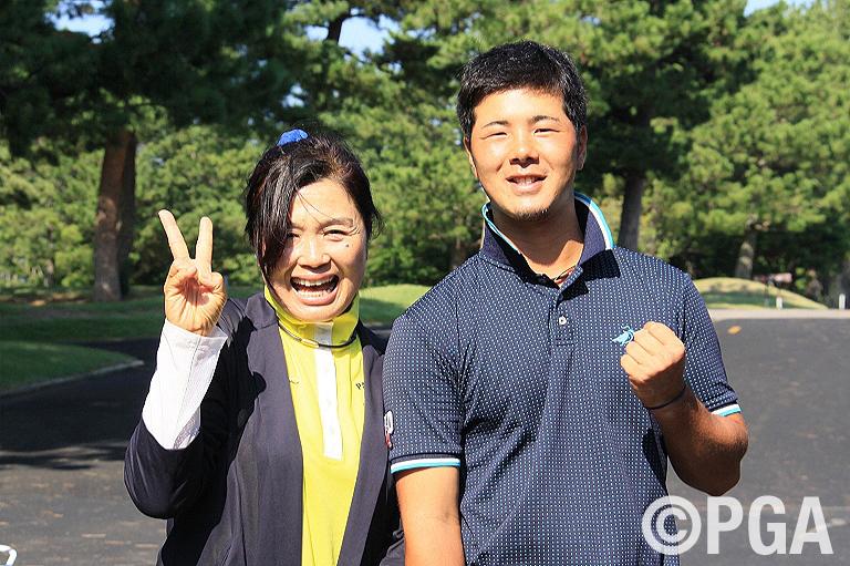 <FR>攻めた最終日!合格を決めた北山は、母と同じプロゴルファーとして活躍を目指す